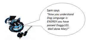 Sam's Dog Rules - September Newsletter